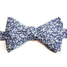 Noeud Papillon Liberty Bleu Pepper