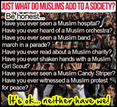 They add nothing to society. Period!