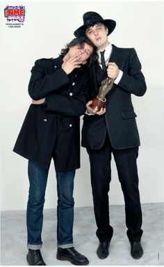 Pete Doherty & Carl  Barat, NME awards