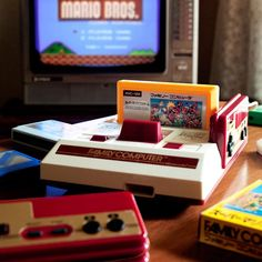 Nintendo famicon!!! I miss them gaming days...