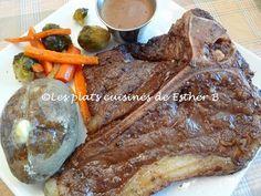 Les plats cuisinés de Esther B: Steaks marinés à l'italienne