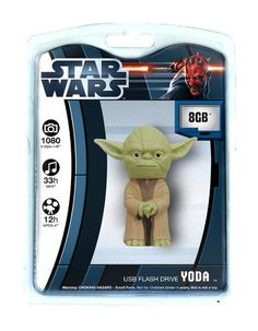 Star Wars 8 Gig USB Drive - Yoda by Tyme Machines, http://www.amazon.com/dp/B004YLMLM6/ref=cm_sw_r_pi_dp_UEhArb10T38X6