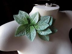 Velvet Leaves 12 LARGE size in Kiwi Green Ombre for Bridal, Boutonnieres, Headbands, Fascinators, Hats, Costumes