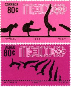 mexico 1968 stamps