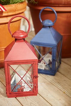 "The name Bennett comes from the Latin Benedictus, or ""blessed."" A fitting choice, we think, for Pier 1's exclusive iron Bennett Lanterns. They're painted by hand and finished with a powder coating for rust-resistance, which makes it a timeless way to light up an evening. Just place your favorite 3x4 pillars inside, and you're good to go."