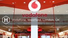 Vodafone are committed to the high street, aiming to provide an industry-leading customer experience throughout their 500 UK retail outlets. Uk Retail, Customer Experience, Neon Signs, London, Videos, London England