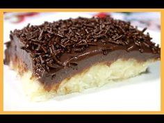 Prestígio gelado especial de Pascoa - YouTube Coco, Mousse, Tiramisu, Sweet Treats, Pie, Ethnic Recipes, Easy, Desserts, Chocolates