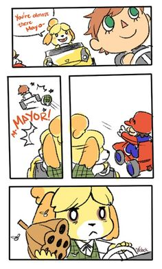 Animal Crossing and Mario Kart Don't Mix Well...