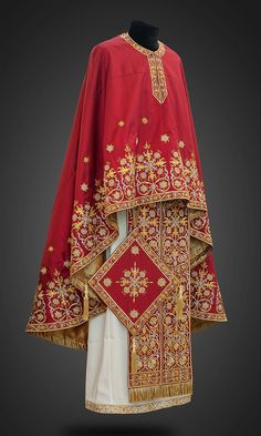 Iviron Orthodox Priest, John Chrysostom, Tablet Weaving, Gold Embroidery, Reference Images, Kimono Top, Bell Sleeve Top, Inspiration, Clothes