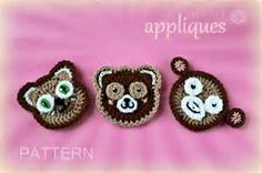 PATTERN - Crochet Owl Applique