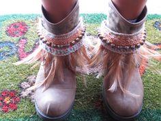 Etnic pulseras para botas