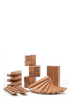 Magnetic Wooden Blocks! Coolest toy ever. #toys #kids #birthday
