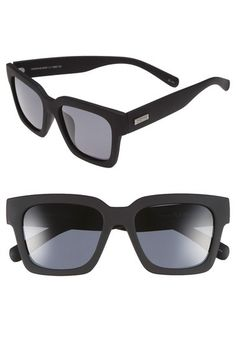 Le Specs 'Weekend Riot' 55mm Retro Sunglasses available at #Nordstrom