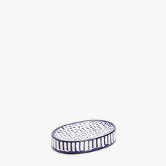 set de baño puntos y rayas