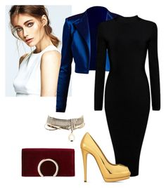 """""""Untitled #726"""" by blue-ember on Polyvore featuring Giuseppe Zanotti, Chanel and Jessica McClintock"""