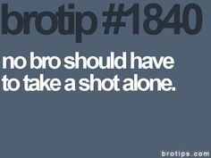 so in that case they should have a little patience so their bro can actually get there first..