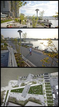 THE EDGE PARK W-Architecture /The Williamsburg waterfront