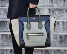 marlow35: my OBSESSIONS : CELINE leather jacket and shopper bag
