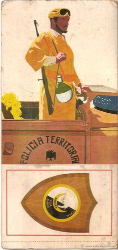 Postales: SAHARA, POLICIA TERRITORIAL, 3ª CIA, SMARA - 6349-D - EDITADA EN 1975 - SIN CIRCULAR - Foto 1 - 53287321
