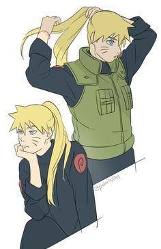 So what if Naruto had Kushina's long hair :D