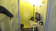 Google phone booth room