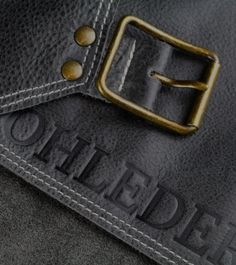 ROHLEDER | Grillschürze aus Leder | LederschürzeRohleder Perfect Steak, Crickets