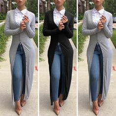 Vestidos Casuales Para Damas - Blusones Largos - Sobretodos - Bs ... 0178a10b5e81