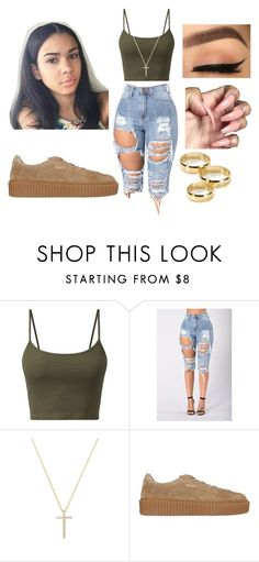 """""""Dear Haters, Hating Me Won't Make you Pretty."""" by beautyqueen-927 ❤ liked on Polyvore featuring Nephora, Puma and Aqua"""