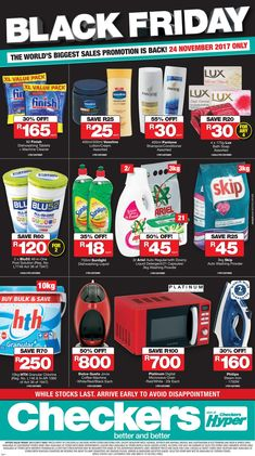 Black Friday South Africa Specials