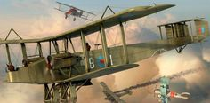 Handley Page 0/400 by Adam Tooby