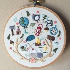 Moonrisewhims - compte instagram broderie - embroidery