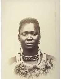 Queen Matuoane who was married to King Gaseitsiwe. Photograph taken August 1865 by Gustav Theodore Finch. African History, African Art, Theodore Finch, African Royalty, Warrior Queen, My Hero Academia Manga, Hair Jewelry, Black Women, Crochet Necklace