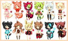 Kemonomimi Boys - CLOSED by Ayuki-Shura-Nyan on DeviantArt