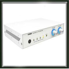 The has 4 inputs, balanced microphone plus phantom power, Rack Mountable. Audio Visual Installation, Phantom Power, Stereo Amplifier, Display Screen