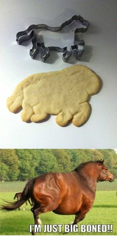 Laughed hard at this - many of my cookies turn out like this!
