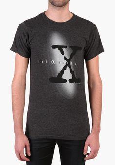 The X-Files TV Series Logo T-Shirt