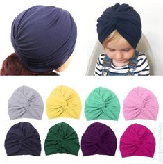 8b90083fab9 Baby Lovely Hat Cotton Soft Turban Knot Summer Hat Newborn Cap For Baby Girl   fashion