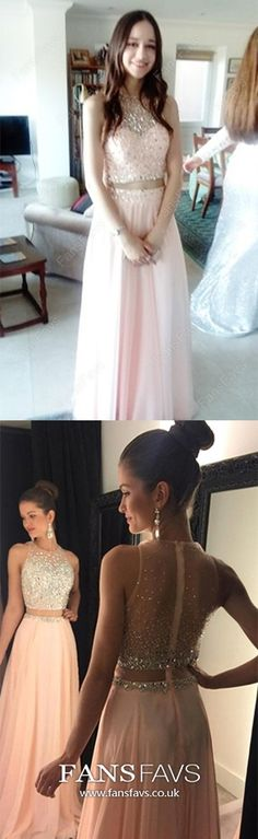 Two Piece Prom Dresses Pink, Long Formal Evening Dresses For Teens, A Line Military Ball Dresses Modest, Sparkly Wedding Party Dresses Chiffon Different Prom Dresses, Prom Dresses Long Modest, Vintage Formal Dresses, Formal Dresses For Teens, Best Prom Dresses, Pink Prom Dresses, Formal Dresses For Weddings, Prom Dresses Online, Formal Evening Dresses
