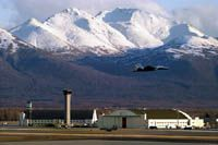 Elmendorf AFB, Alaska!  Would fly in here a couple times a year on C-130 from Kodiak, Alaska