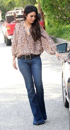 Seen on Celebrity Style Guide: Vanessa Hudgens out and about in Los Angeles on Tuesday, April 12.