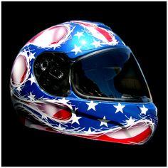 USA Theme Helmet