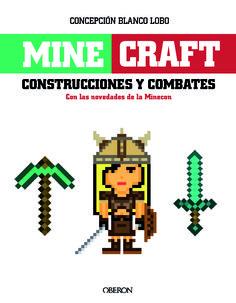 Minegraft. Diseño de cubierta Celia Antón Santos