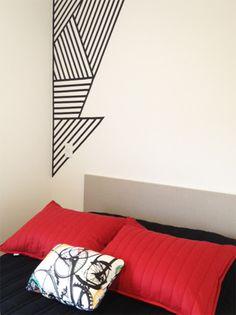 Um salve para a fita isolante! - dcoracao.com - blog de decoração e tutorial diy                                                                                                                                                                                 More