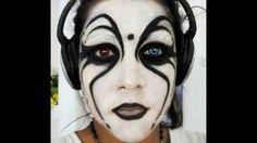mime makeup -Halloween
