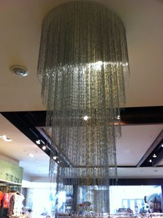 Paperclip chandelier from anthropologie cool finds pinterest paperclip chandelier google search aloadofball Gallery