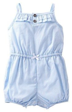 one of my favorite outfits for my baby girl this summer! Carters Baby Girls Romper #babygirloutfits