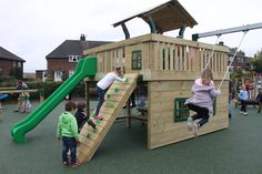 A tower system with integrate swings?! Our Heartwood tower system from our Woodlander range really does cover all bases!