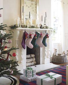 Jersey Knit Stripe StockingJersey Knit Stripe Stocking