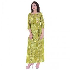 India's Best online Shopping Website For Women,Mens,kids and Many More Categories For Shopping . Anarkali Kurti, India, Stitch, Prints, Cotton, Shopping, Green, Dresses, Art