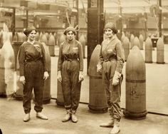 The Canary Girls and the WWI Poisons that turned them Yellow